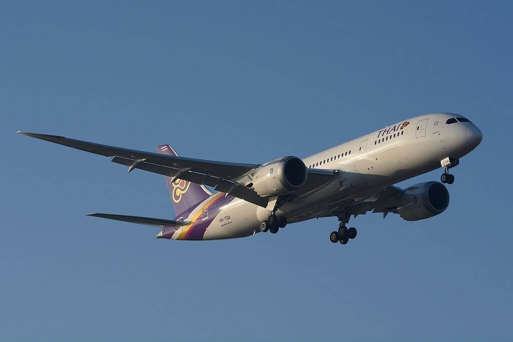 THAI Airways Boeing 787 8 Dreamliner HS TQA Ongkharak องครักษ์ at Narita International Airport
