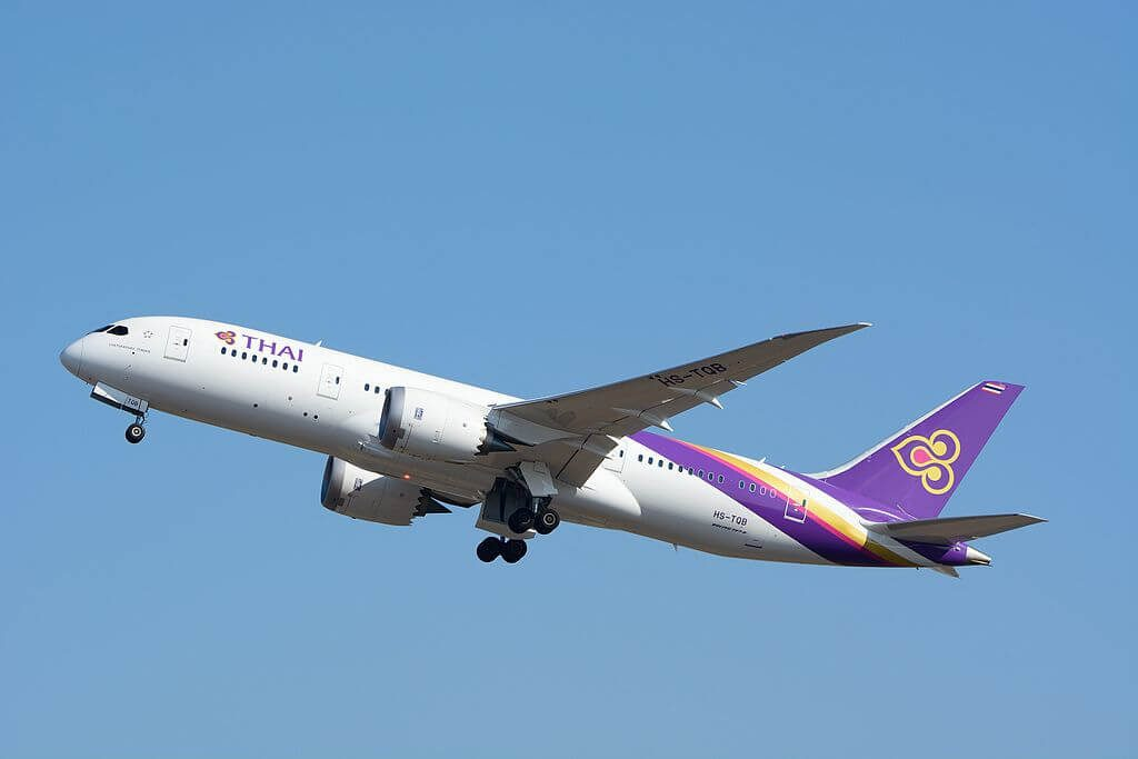 THAI Airways Boeing 787 8 Dreamliner HS TQB Chaturaphak Phiman จตุรพักตรพิมาน at Narita International Airport