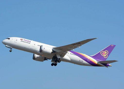 THAI Airways Boeing 787 8 Dreamliner HS TQB Chaturaphak Phiman จตุรพักตรพิมาน at Narita International Airport