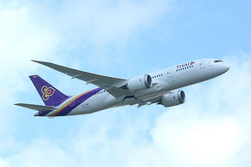 THAI Airways Boeing 787 8 Dreamliner HS TQF Kong Krailat กงไกรลาศ at Narita International Airport