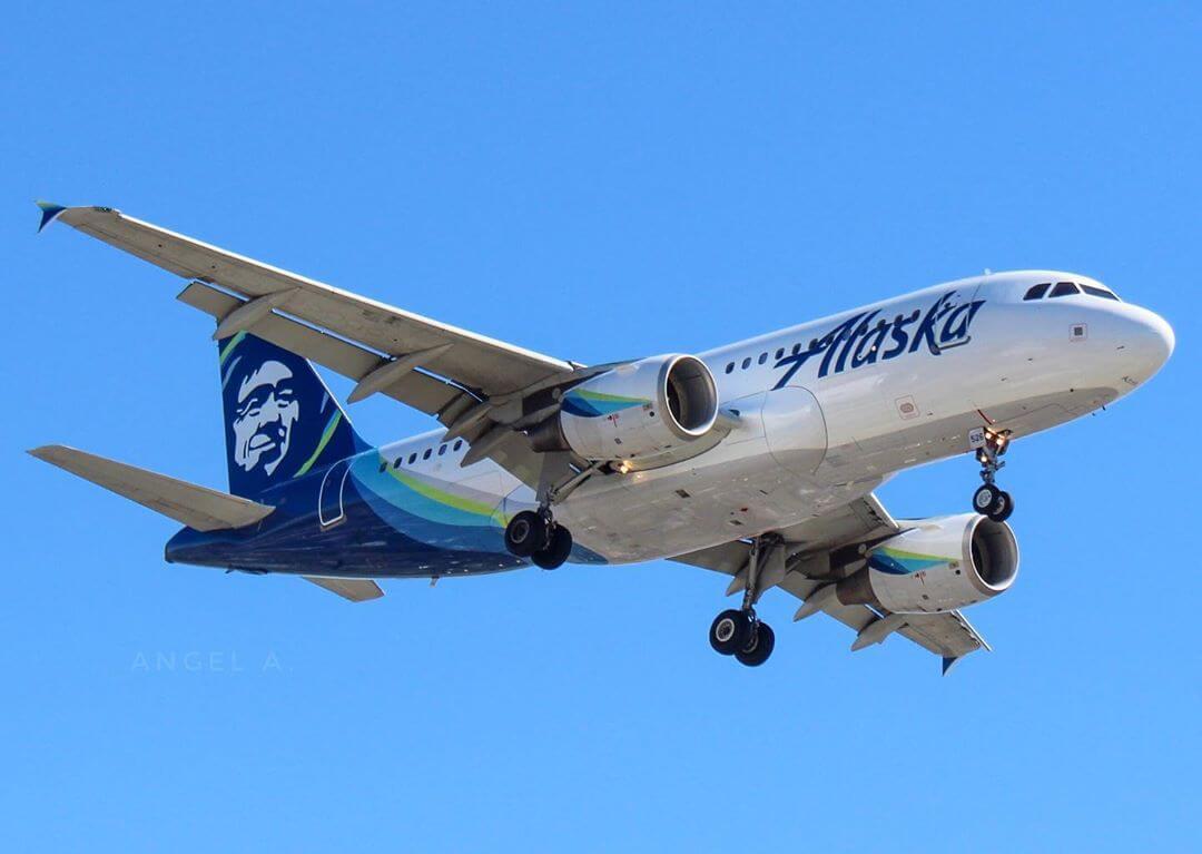 Airbus A319 112 Alaska Airlines N526VA