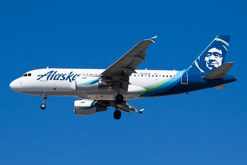 Airbus A319 112 N524VA Alaska Airlines