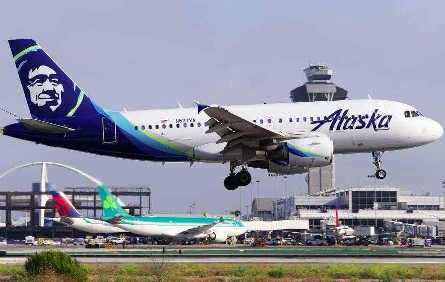 Airbus A319 112 N527VA Alaska Airlines