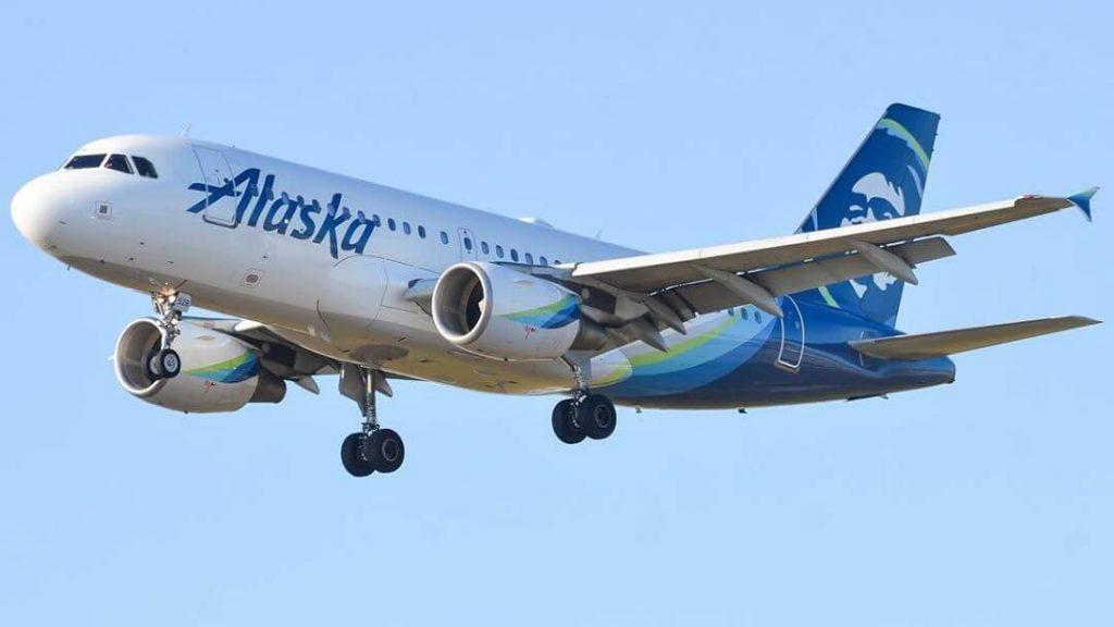 Airbus A319 112 N528VA Alaska Airlines