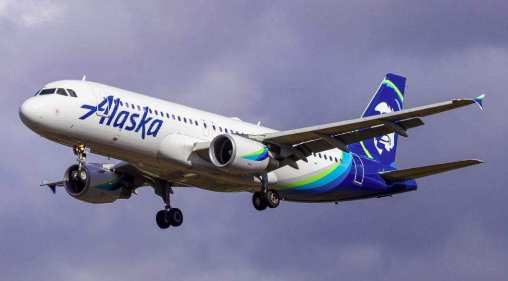 Airbus A319 112 N530VA Alaska Airlines