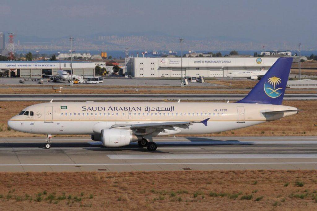 Airbus A320 214 HZ AS38 Saudia