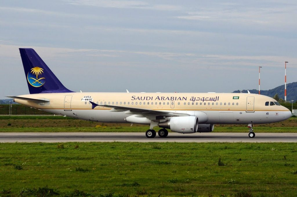Airbus A320 214 HZ AS41 Saudia