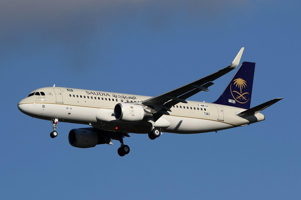 Airbus A320 214WL HZ AS51 Saudia