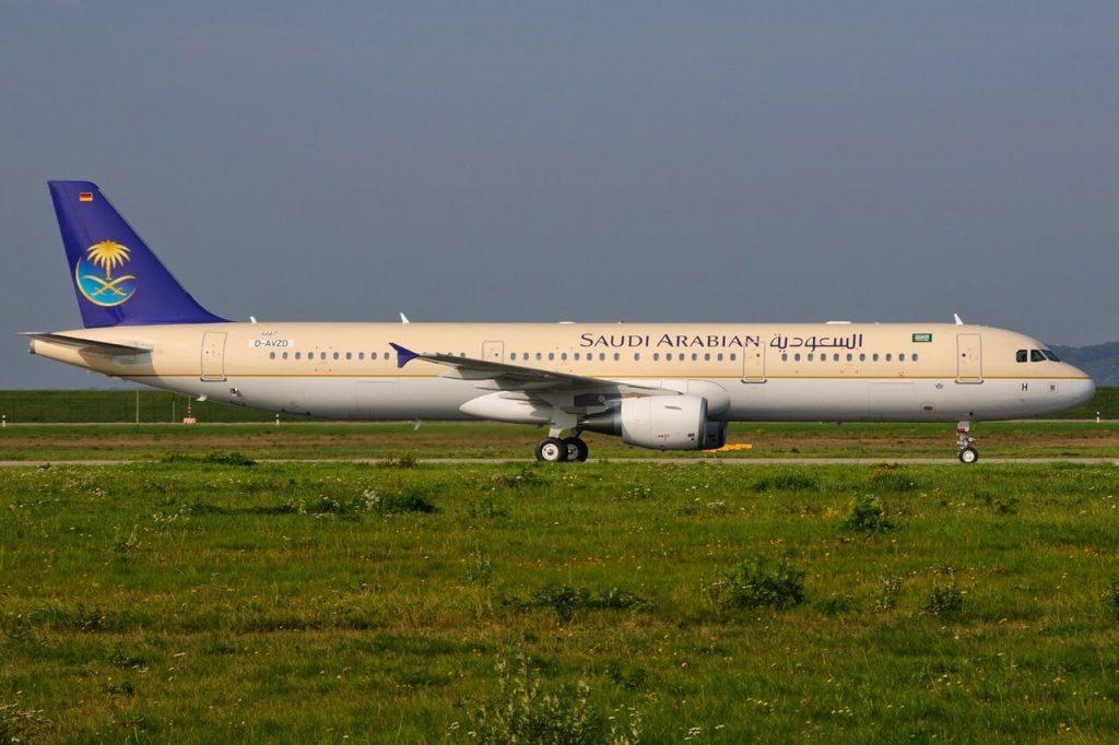 Airbus A321 211 HZ ASH Saudia