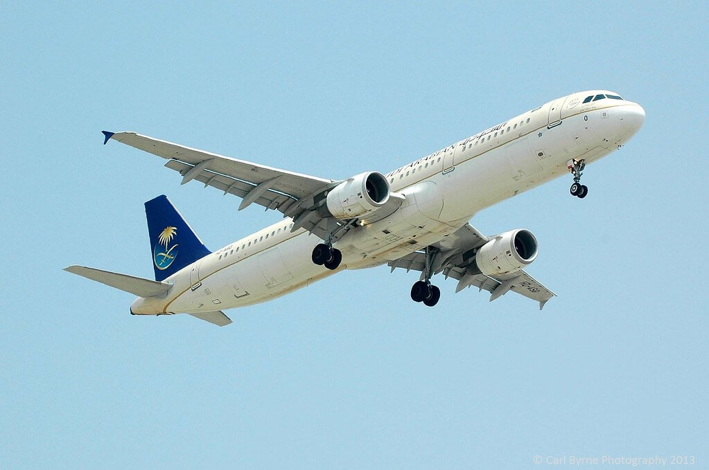 Airbus A321 211 HZ ASO Saudia