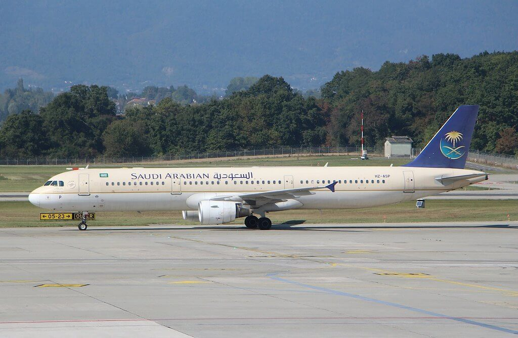 Airbus A321 211 HZ ASP Saudia
