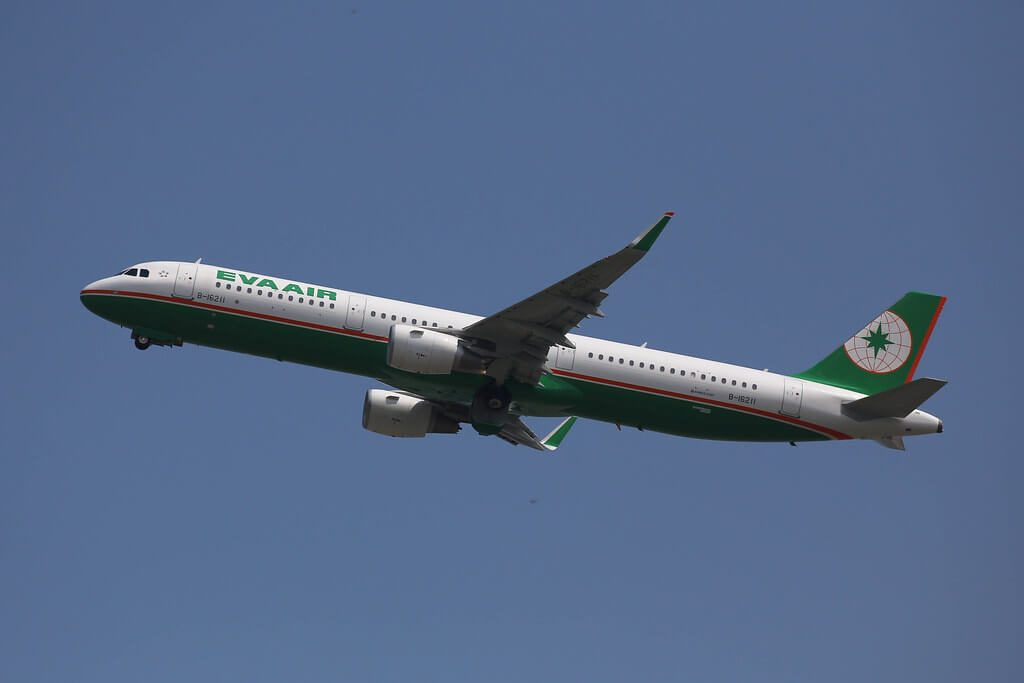 Airbus A321 211WL EVA Air B 16211