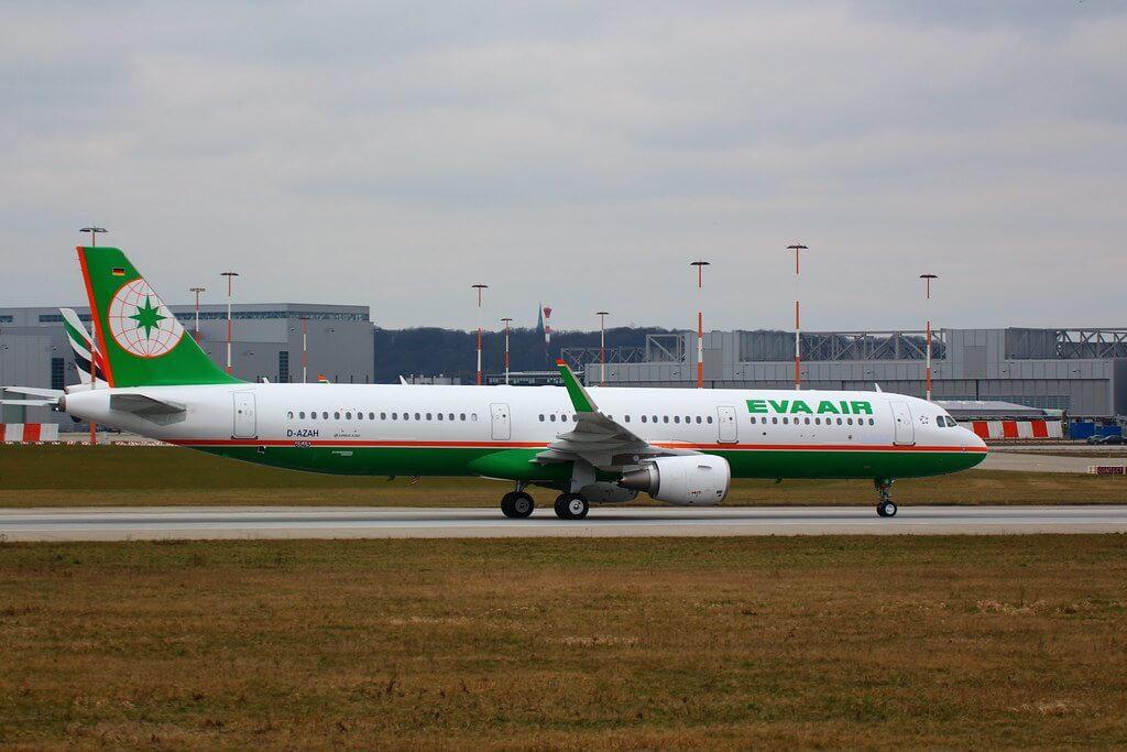 Airbus A321 211WL EVA Air B 16212