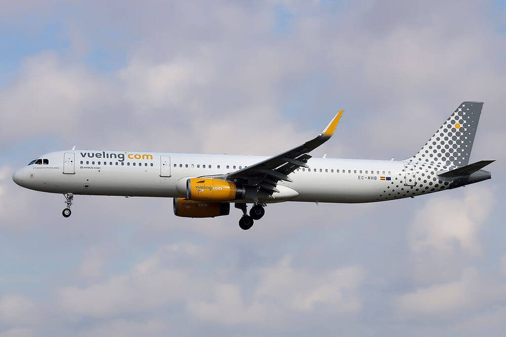 Airbus A321 231WL EC MHB Vueling Airlines at Barcelona Airport