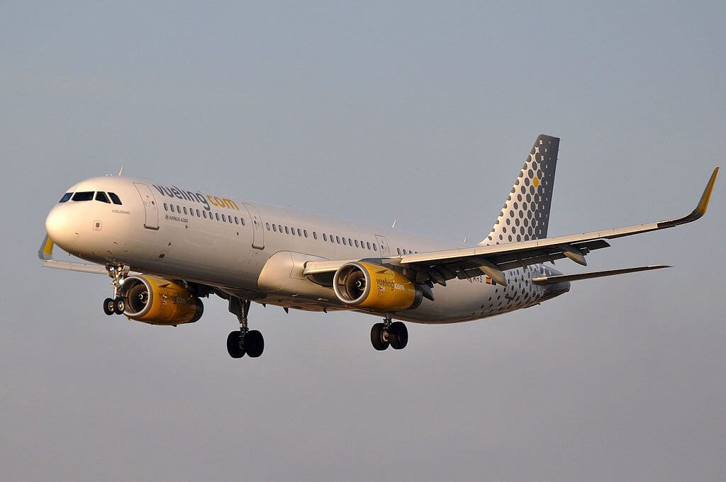 Airbus A321 231WL EC MHS Vueling Airlines at Barcelona Airport