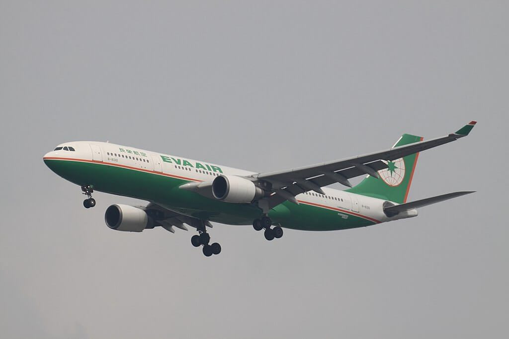 Airbus A330 203 B 16310 EVA Air at Suvarnabhumi International Airport