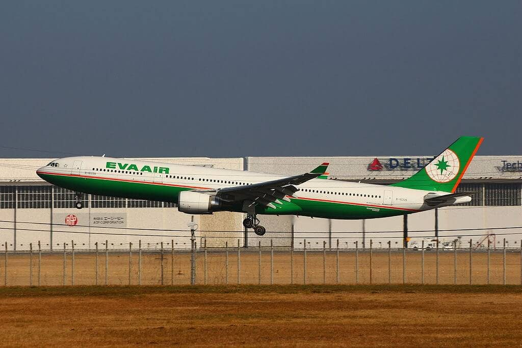 Airbus A330 302 EVA Air B 16335