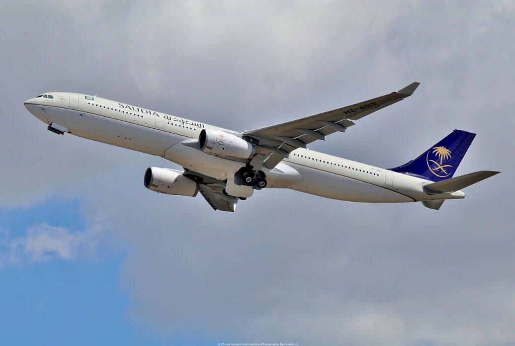Airbus A330 343 HZ AQ12 Saudia