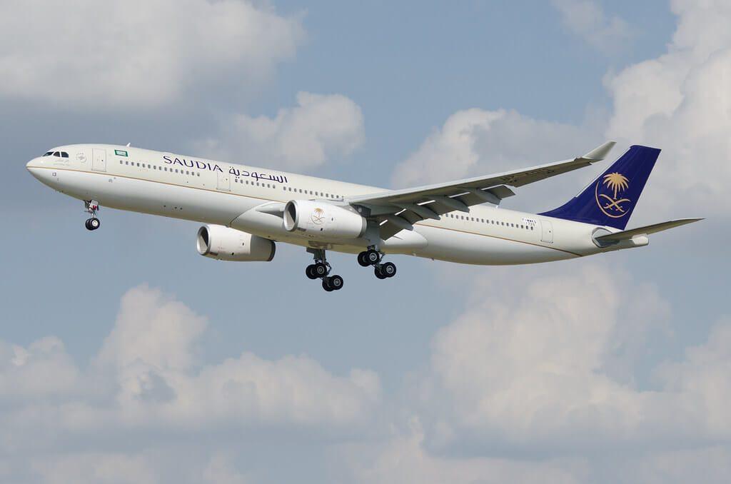 Airbus A330 343 HZ AQ13 Saudia