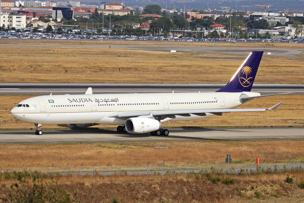 Airbus A330 343 HZ AQ15 Saudia