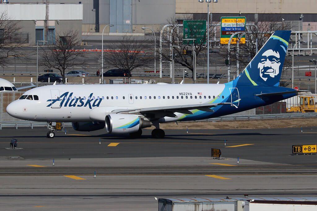 Alaska Airlines Airbus A319 112 N522VA