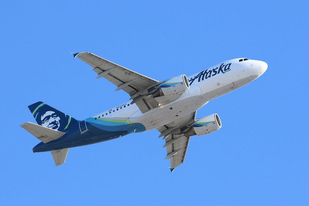 Alaska Airlines Airbus A319 112 N529VA