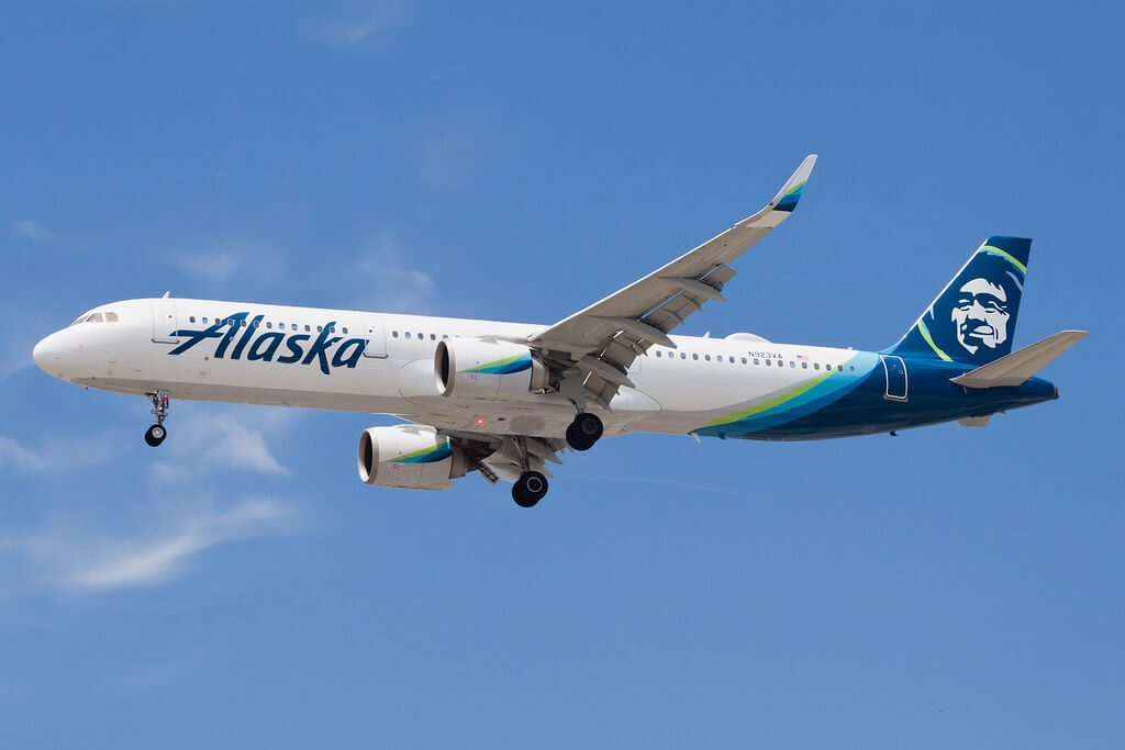 Alaska Airlines Airbus A321 253N N923VA