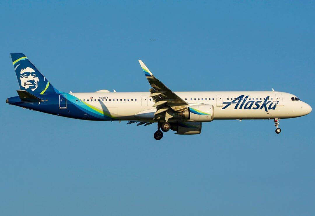 Alaska Airlines Airbus A321 253Neo N921VA