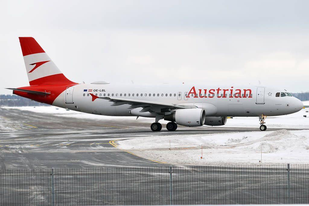 Austrian Airlines Airbus A320 214 OE LBL Ausseerland