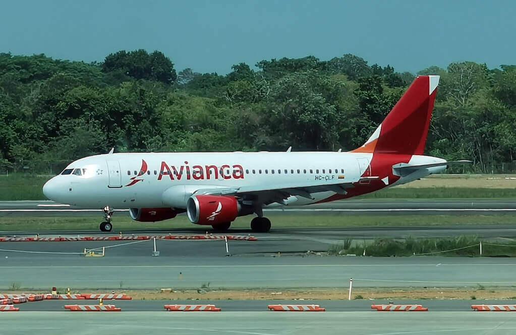 Avianca Airbus A319 112 HC CLF
