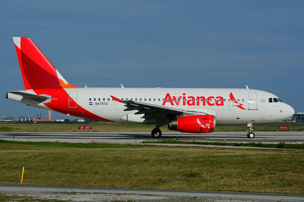 Avianca Airbus A319 132 N479TA at Toronto Lester B. Pearson Airport