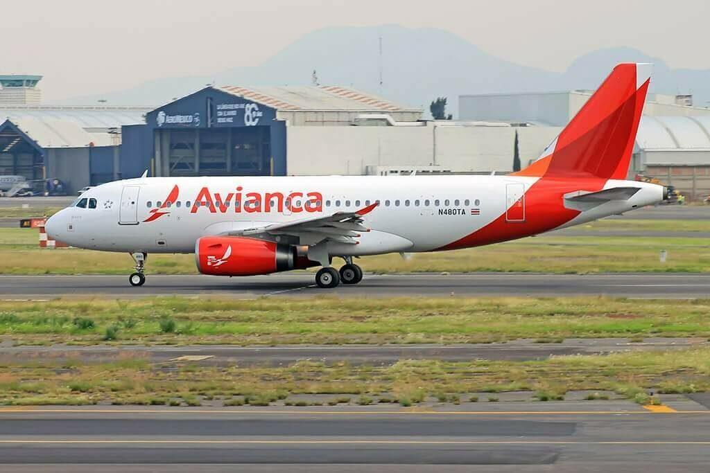 Avianca Airbus A319 132 N480TA