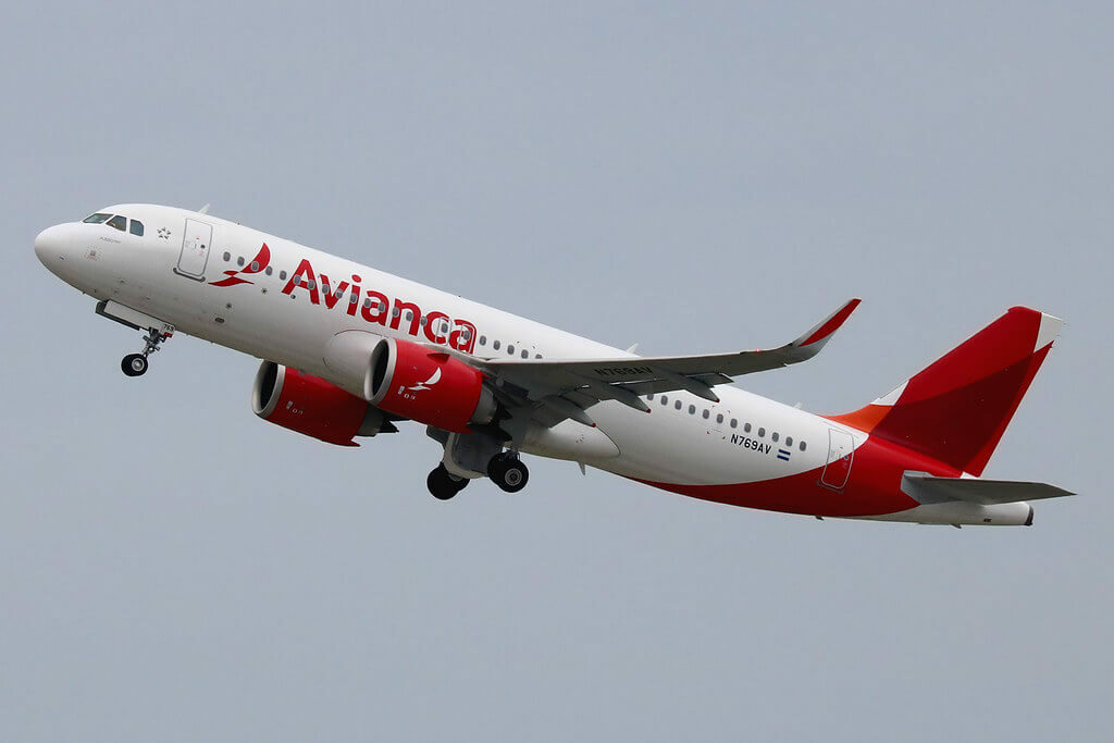 Avianca Airbus A320 251N N769AV at New York JFK Airport