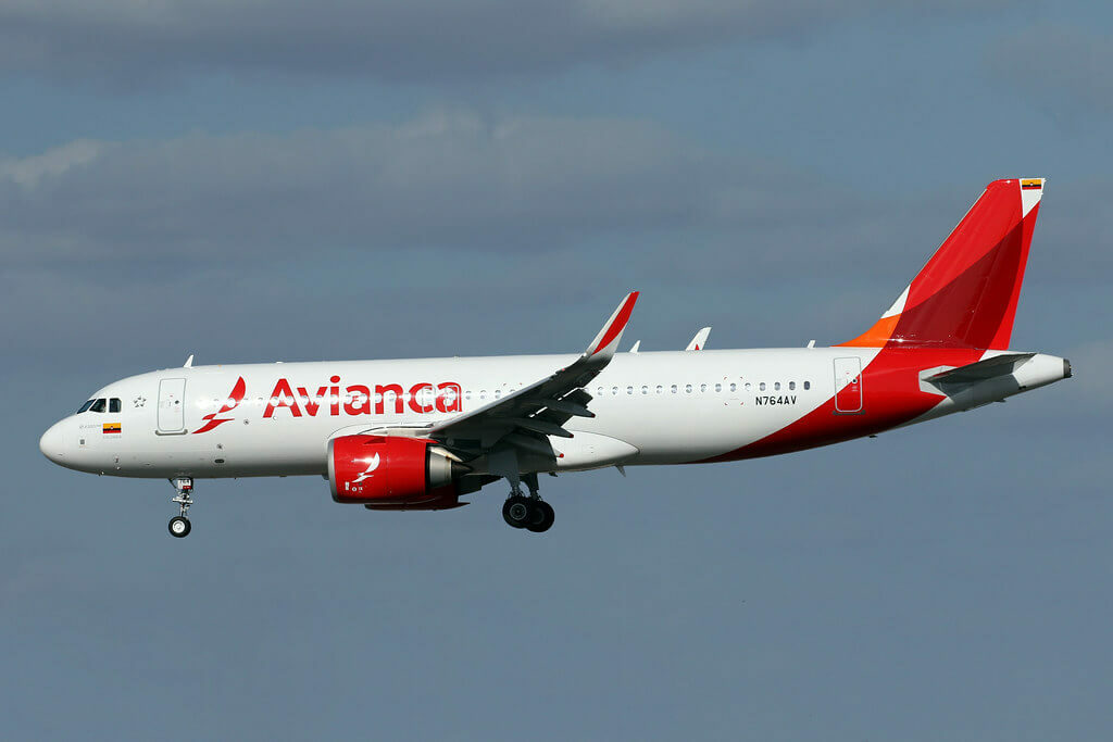Avianca Airbus A320 251Neo N764AV at Miami International Airport