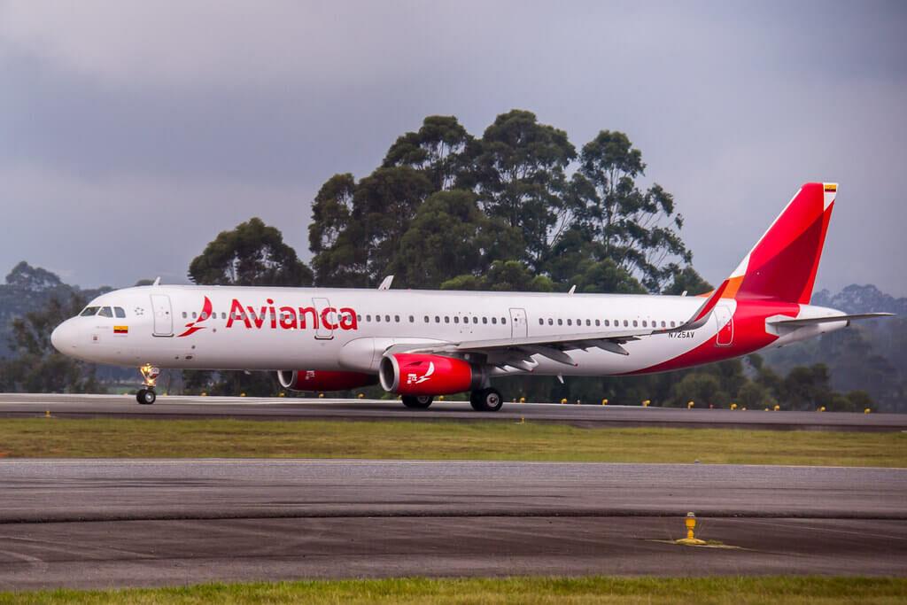 Avianca Airbus A321 231WL N725AV