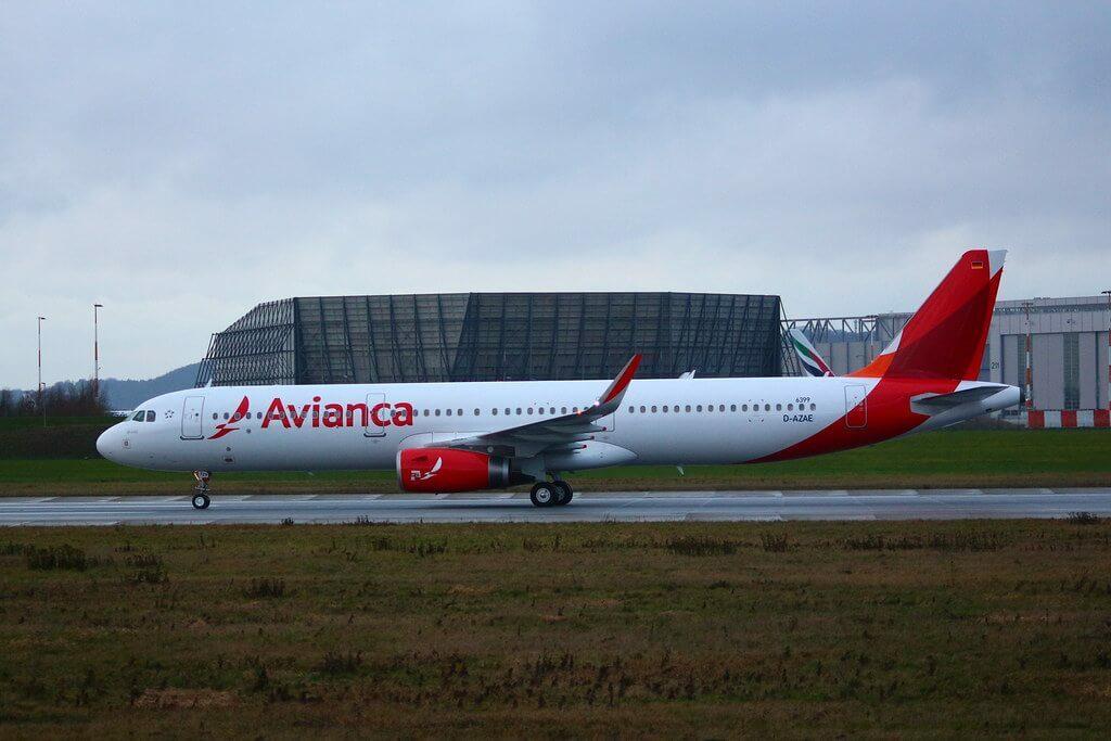 Avianca Airbus A321 231WL N729AV