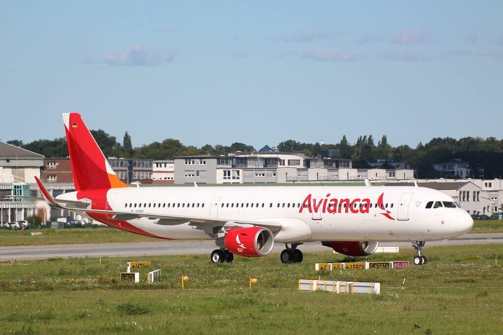 Avianca Airbus A321 231WL N744AV