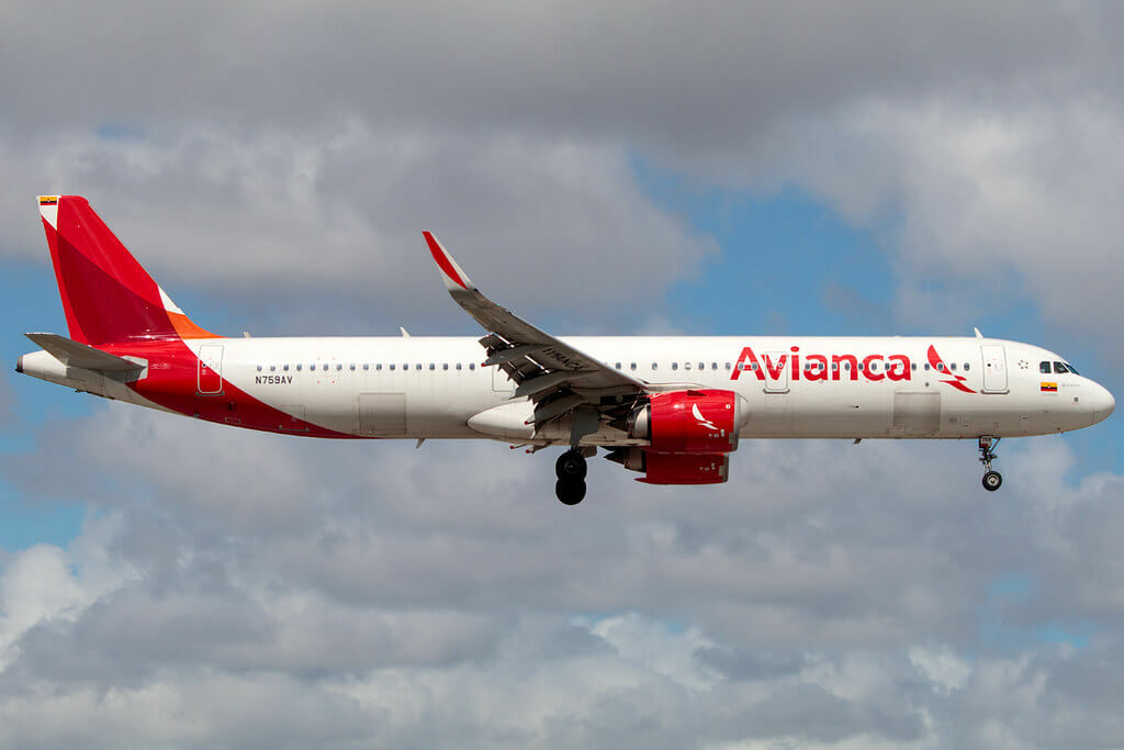 Avianca Airbus A321 253 NEO N759AV at Miami International Airport
