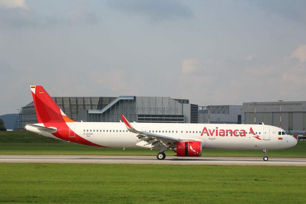 Avianca Airbus A321 253 NEO N761AV