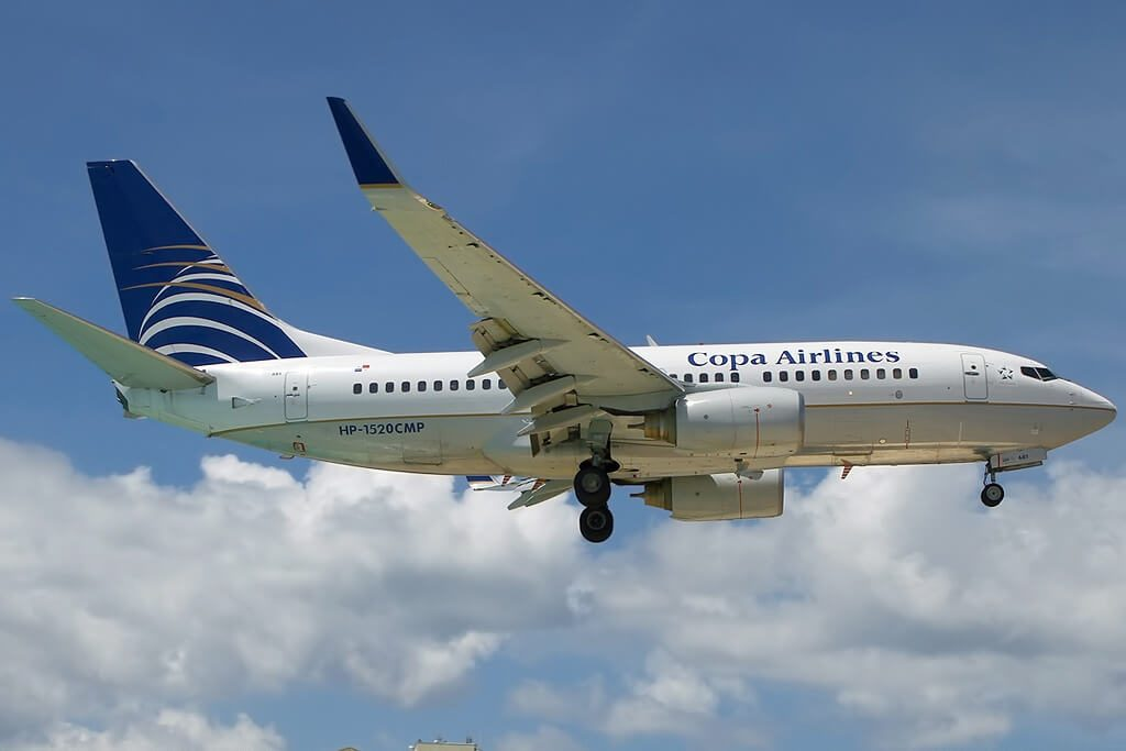 Boeing 737 7V3WL HP 1520CMP Copa Airlines at Princess Juliana Airport
