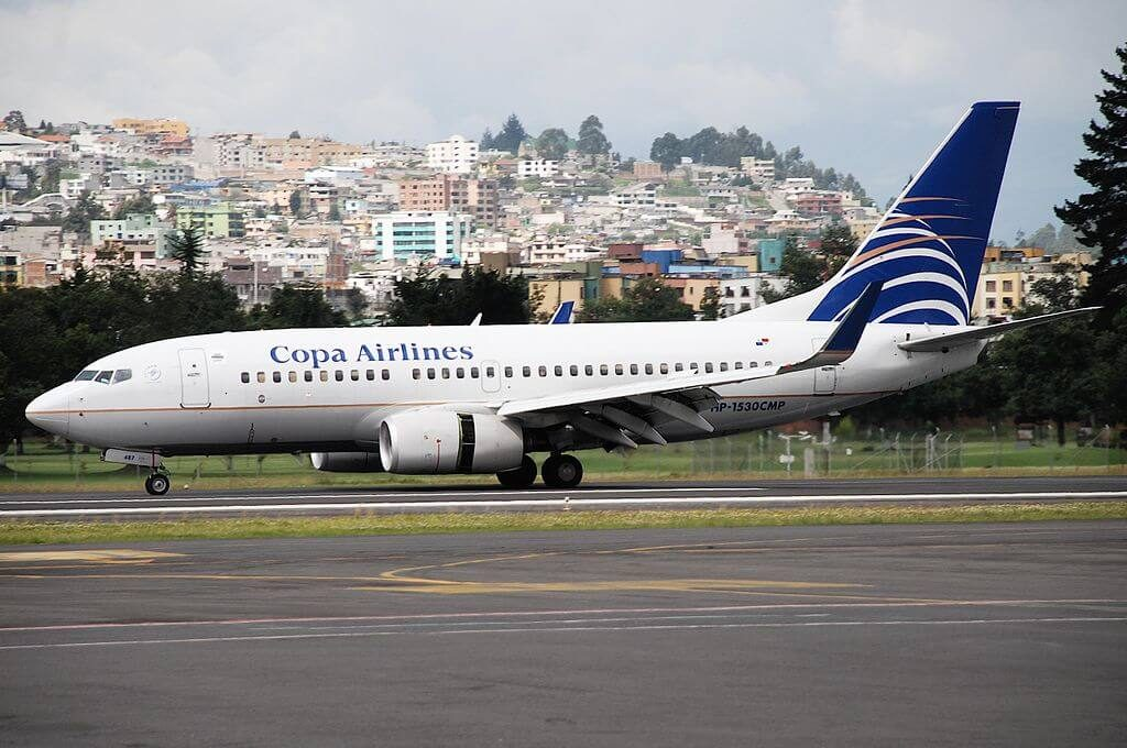 Boeing 737 7V3WL HP 1530CMP Copa Airlines at Old Mariscal Sucre International Airport