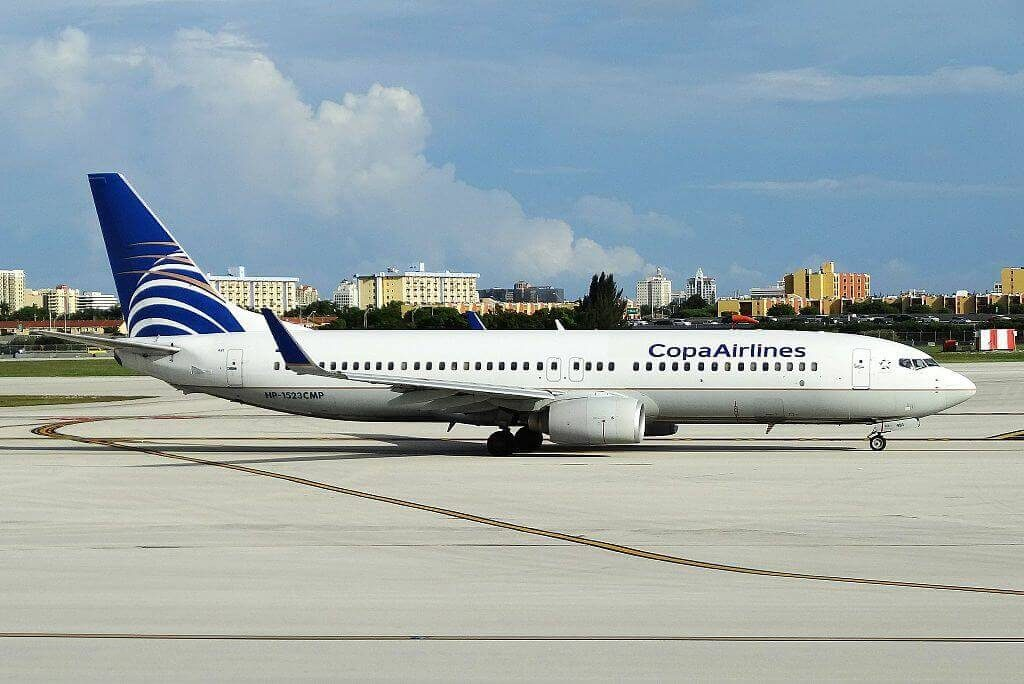 Boeing 737 8V3WL HP 1523CMP Copa Airlines at Miami International Airport