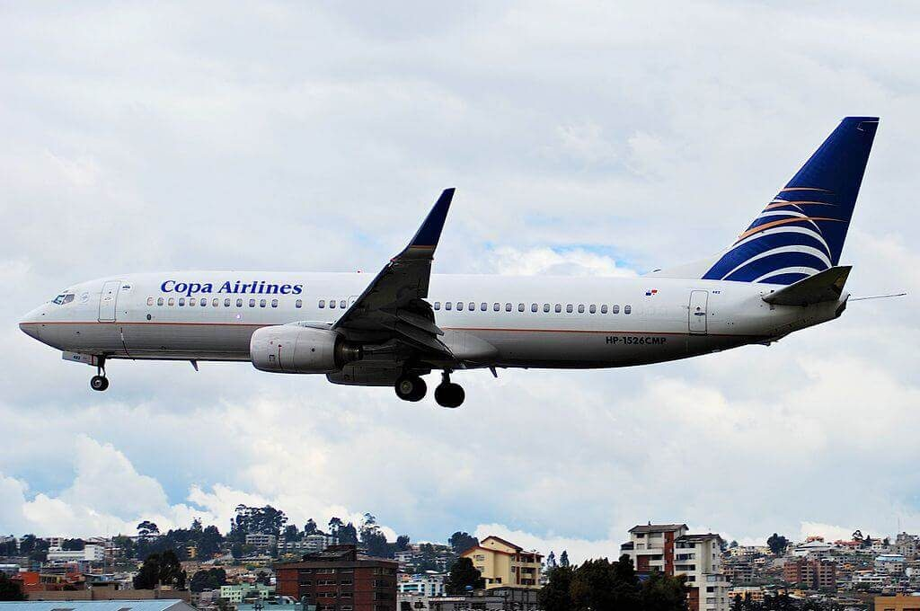 Boeing 737 8V3WL HP 1526CMP Copa Airlines at Old Mariscal Sucre International Airport