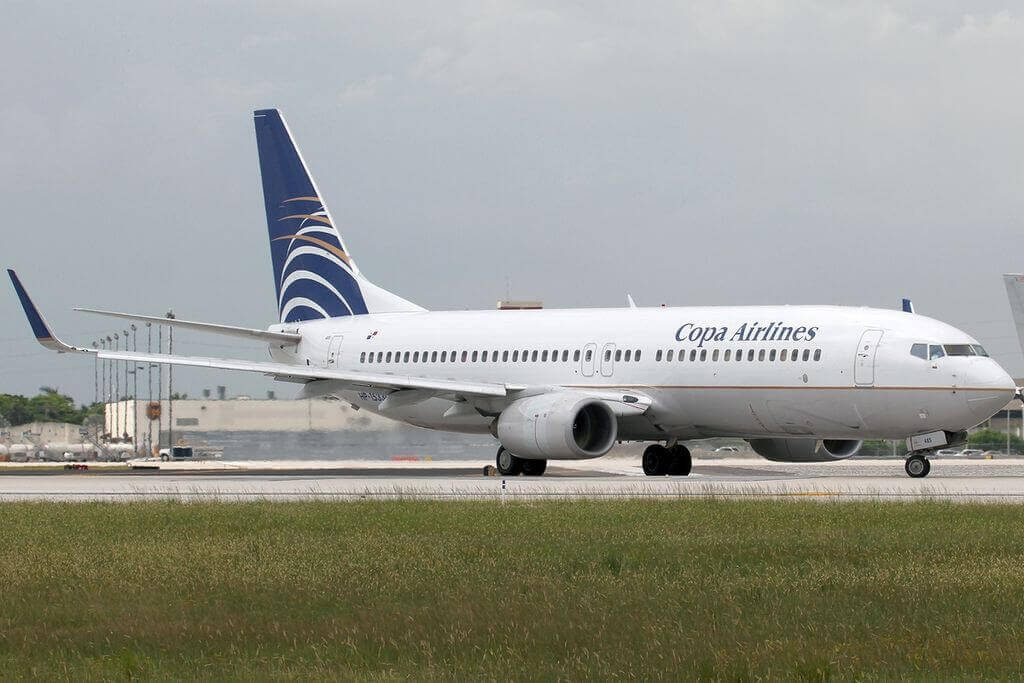 Boeing 737 8V3WL HP 1533CMP Copa Airlines at Miami International Airport