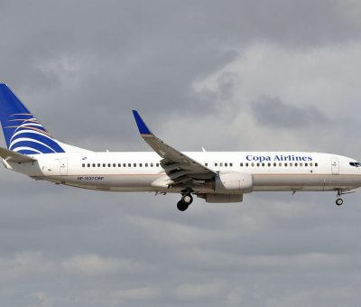 Boeing 737 8V3WL HP 1537CMP Copa Airlines at Miami International Airport