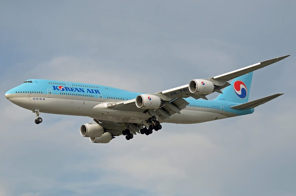 Boeing 747 8B5 Korean Air HL7642 at London Heathrow Airport