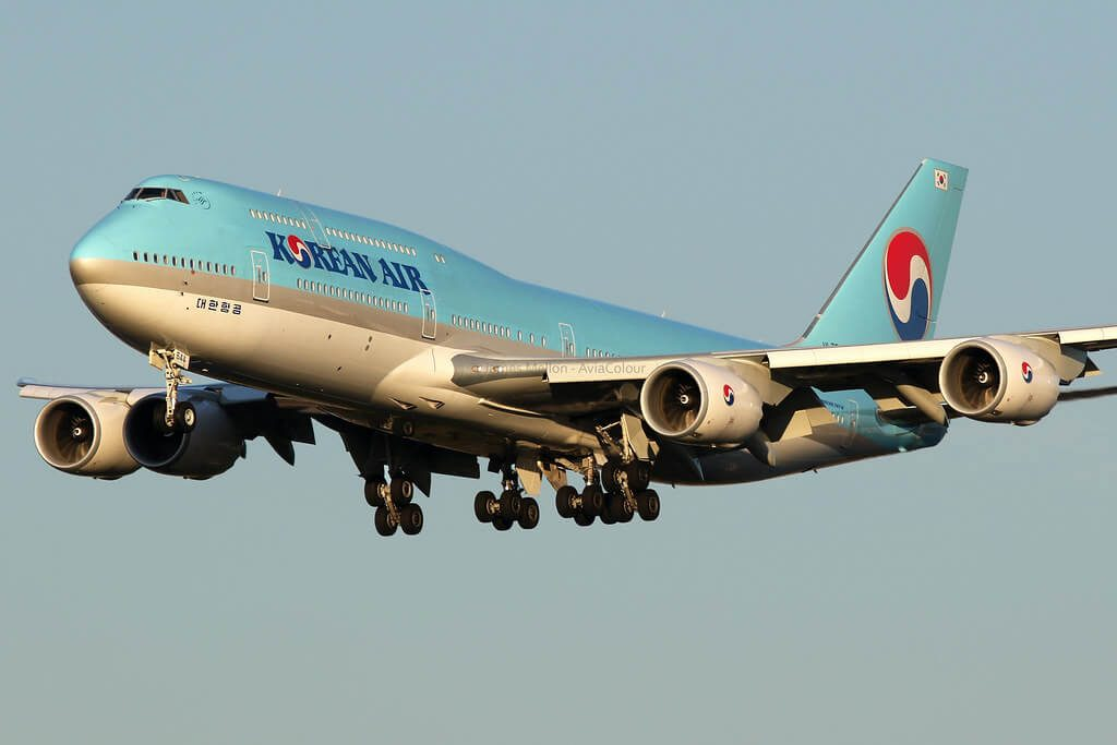 Boeing 747 8B5 Korean Air HL7644 at London Heathrow Airport