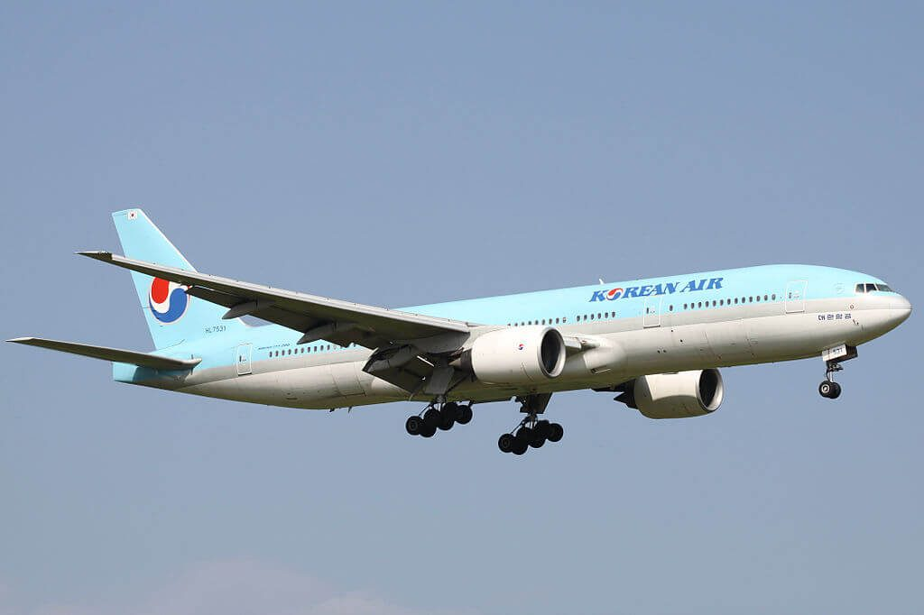 Boeing 777 2B5ER HL7531 Korean Air at Narita International Airport