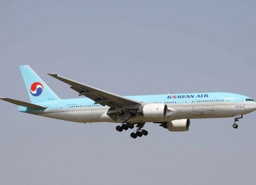 Boeing 777 2B5ER HL7714 Korean Air at Narita International Airport