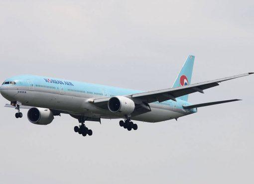 Boeing 777 3B5 HL7533 Korean Air at Narita International Airport